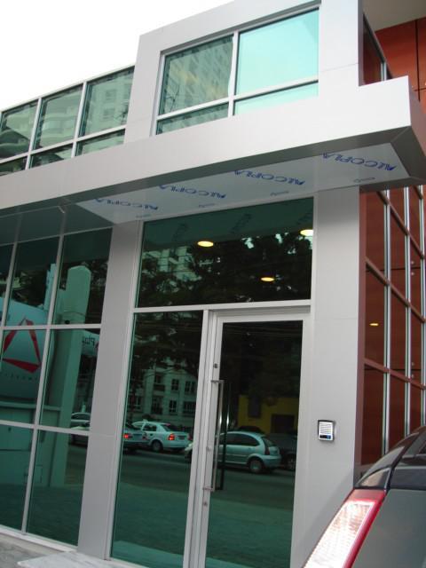 Placas de acm para fachadas