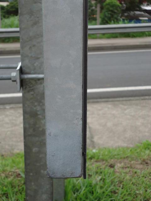Suporte para placas de sinalização